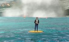 El volcán 'virtual' de 'Una hora menos', de Televisión Canaria, da la vuelta al mundo